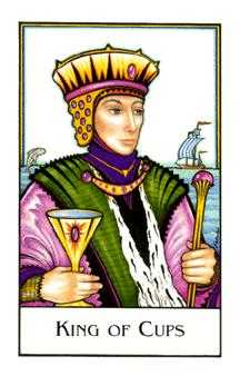 King of Ghosts Tarot Card - The New Palladini Tarot Deck