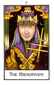 The Hierophant Tarot Card - The New Palladini Tarot Deck