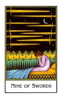 new-palladini-tarot - Nine of Swords