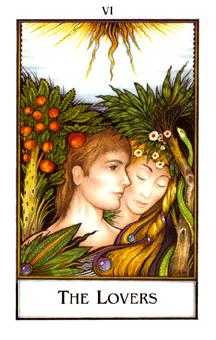The Lovers Tarot Card - The New Palladini Tarot Deck