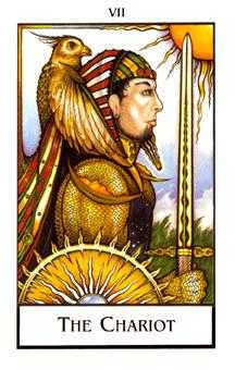 The Chariot Tarot Card - The New Palladini Tarot Deck