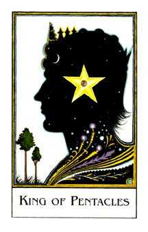 King of Discs Tarot Card - The New Palladini Tarot Deck
