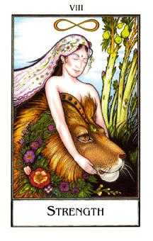 Strength Tarot Card - The New Palladini Tarot Deck