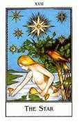 The Star Tarot card in The New Palladini Tarot Tarot deck