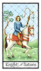 old-english - Knight of Batons