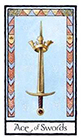 old-english - Ace of Swords