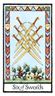 old-english - Six of Swords
