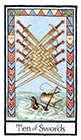 old-english - Ten of Swords
