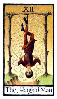 The Hanged Man Tarot Card - Old English Tarot Deck