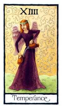 Temperance Tarot Card - Old English Tarot Deck