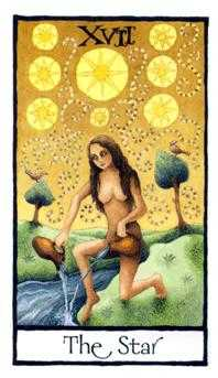 The Star Tarot Card - Old English Tarot Deck