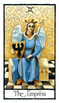 The Empress Tarot Card - Old English Tarot Deck