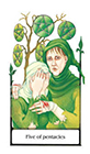 old-path - Five of Pentacles