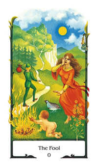 The Fool Tarot Card - Old Path Tarot Deck