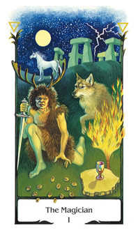 The Magus Tarot Card - Old Path Tarot Deck