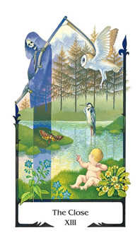 The Close Tarot Card - Old Path Tarot Deck