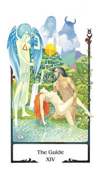 The Guide Tarot Card - Old Path Tarot Deck