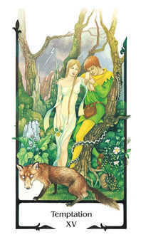 Temptation Tarot Card - Old Path Tarot Deck