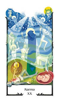 Karma Tarot Card - Old Path Tarot Deck