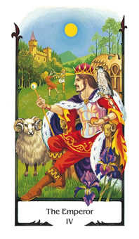 The Emperor Tarot Card - Old Path Tarot Deck