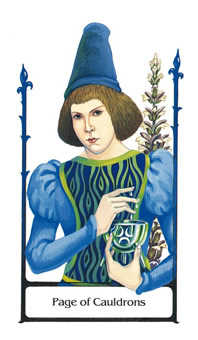 Valet of Cups Tarot Card - Old Path Tarot Deck