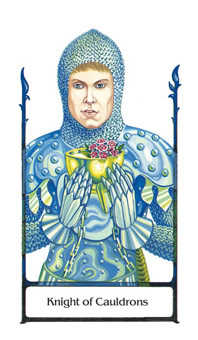 Knight of Ghosts Tarot Card - Old Path Tarot Deck
