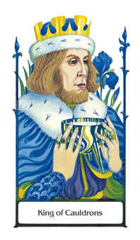 King of Hearts Tarot Card - Old Path Tarot Deck