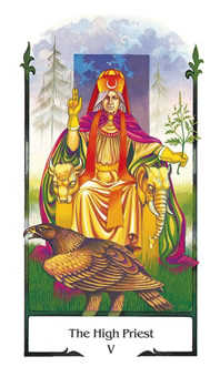 The Hierophant Tarot Card - Old Path Tarot Deck