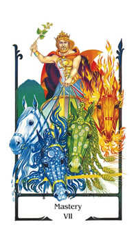 The Chariot Tarot Card - Old Path Tarot Deck