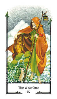 The Hermit Tarot Card - Old Path Tarot Deck
