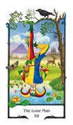 The Lone Man Tarot card in Old Path deck