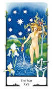 The Star Tarot card in Old Path deck