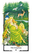The Empress Tarot card in Old Path deck