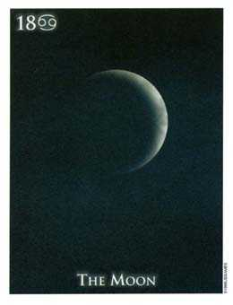 The Moon Tarot Card - One World Tarot Deck