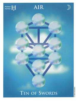 Ten of Rainbows Tarot Card - One World Tarot Deck