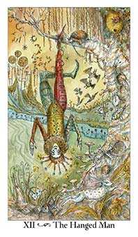 The Hanged Man Tarot Card - Paulina Tarot Deck