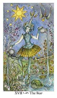 The Star Tarot Card - Paulina Tarot Deck