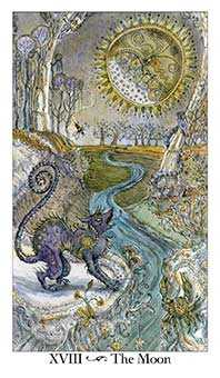 The Moon Tarot Card - Paulina Tarot Deck