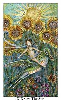 The Sun Tarot Card - Paulina Tarot Deck