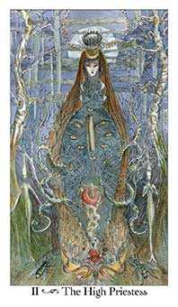 The Popess Tarot Card - Paulina Tarot Deck
