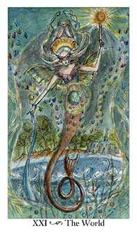 The World Tarot Card - Paulina Tarot Deck