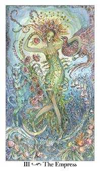 The Empress Tarot Card - Paulina Tarot Deck