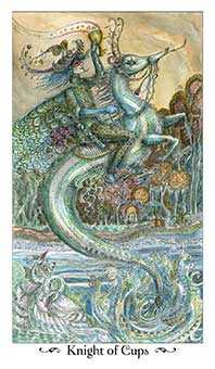 Knight of Cups Tarot Card - Paulina Tarot Deck