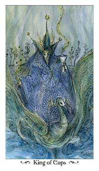 King of Cups Tarot Card - Paulina Tarot Deck