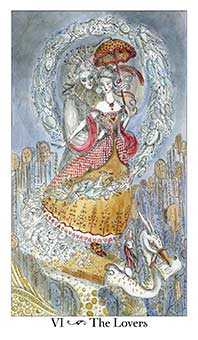 The Lovers Tarot Card - Paulina Tarot Deck