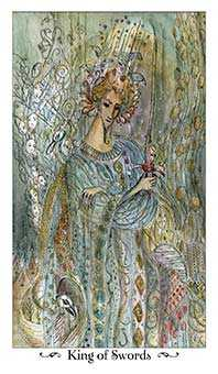 Father of Wind Tarot Card - Paulina Tarot Deck