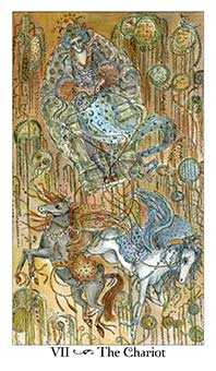 The Chariot Tarot Card - Paulina Tarot Deck