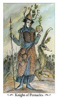 Knight of Discs Tarot Card - Paulina Tarot Deck