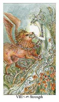 Strength Tarot Card - Paulina Tarot Deck