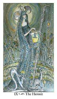 The Anchoret Tarot Card - Paulina Tarot Deck